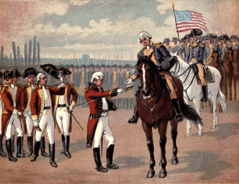 The History of the United States - The Surrender of Cornwallis (1884)