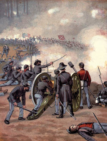 The History of the United States - The Battle of Gettysburgh (1884)