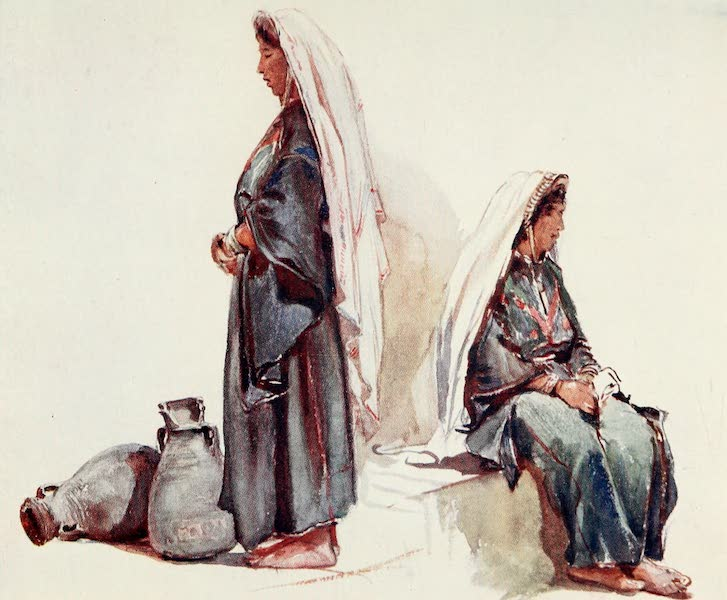 The Holy Land, Painted and Described - Studies of Syrian Peasant Women (1902)