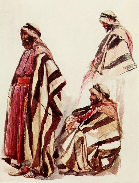 The Holy Land, Painted and Described - Fellah in Holiday Dress (1902)