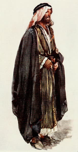 The Holy Land, Painted and Described - Arab Farmer (1902)