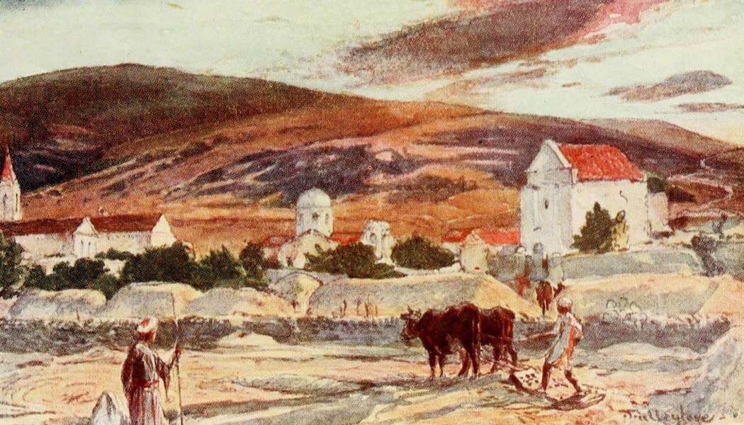 The Holy Land, Painted and Described - Cana of Galilee (1902)