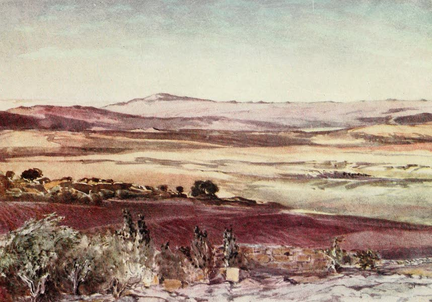 The Holy Land, Painted and Described - Mount Hermon, from the Slopes of Tabor (1902)
