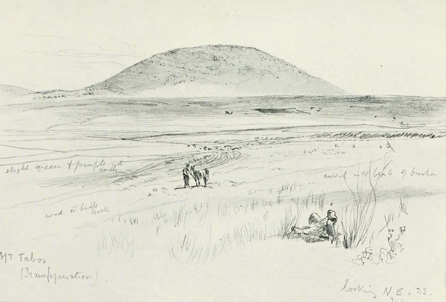 The Holy Land, Painted and Described - Mount Tabor (1902)