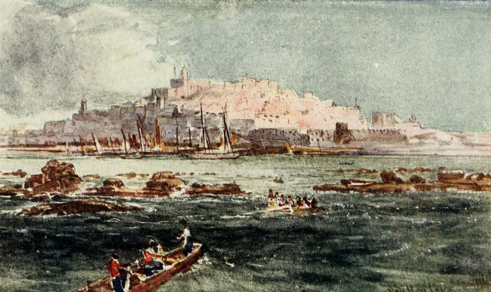 The Holy Land, Painted and Described - Joppa, from the Sea (1902)