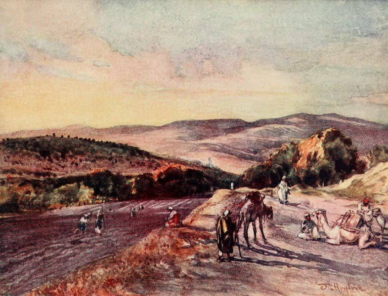 The Holy Land, Painted and Described - Site of the ancient City of Samaria (1902)
