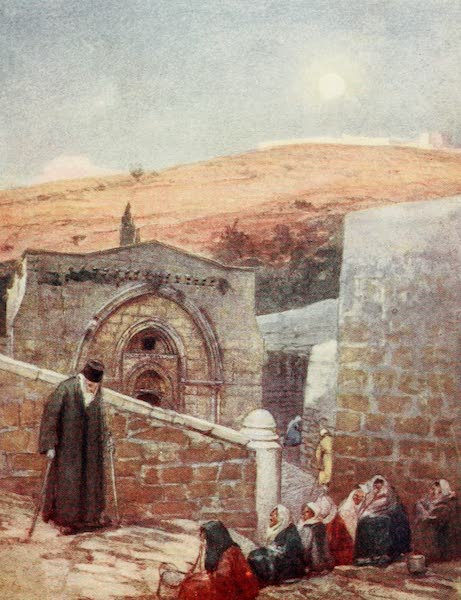 The Holy Land, Painted and Described - The Chapel of the Tomb of the Virgin at the Foot of the Mount of Olives (1902)