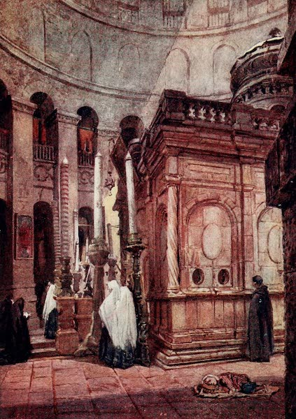 The Holy Land, Painted and Described - The Rotunda and Chapel of the Holy Sepulchre (1902)