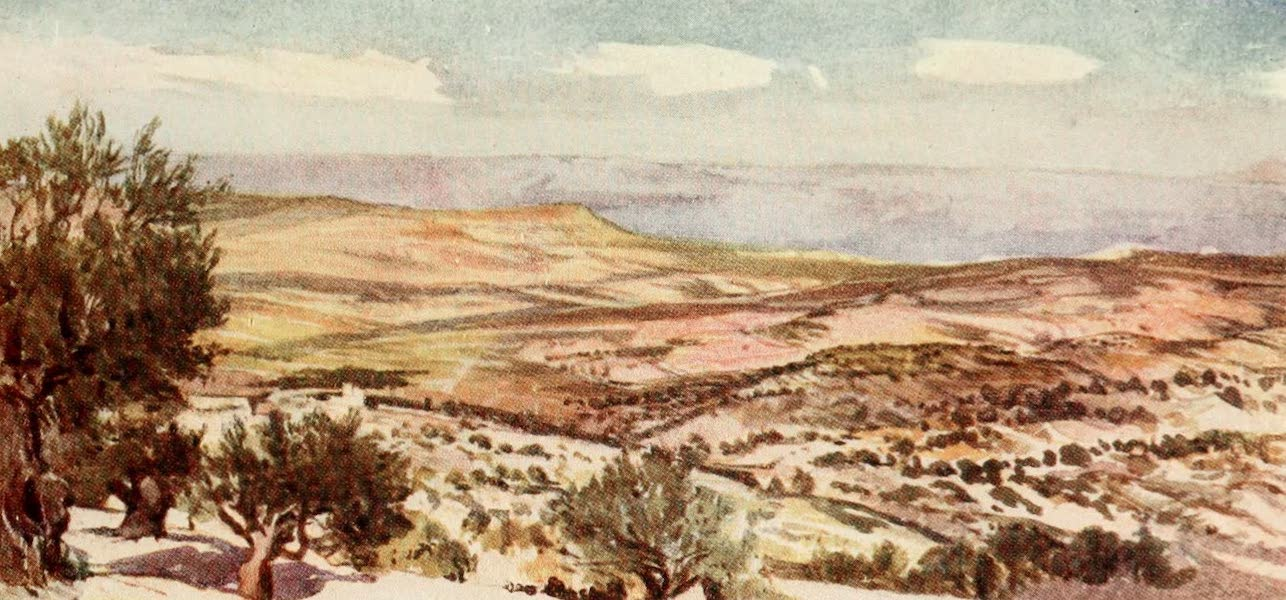 The Holy Land, Painted and Described - Jerusalem - Exterior of the Golden or Beautiful Gate (1902)