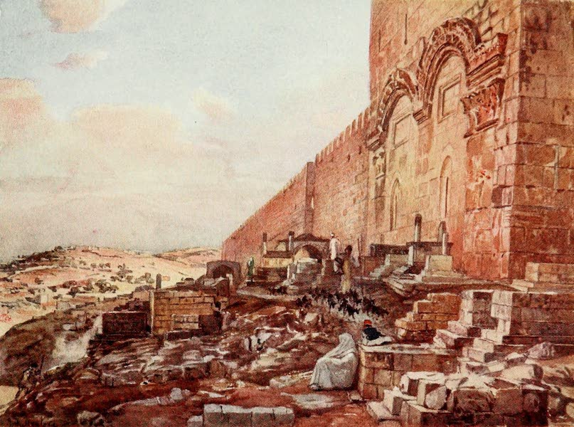 The Holy Land, Painted and Described - The Fields of Ruth and Boaz, near Bethlehem (1902)