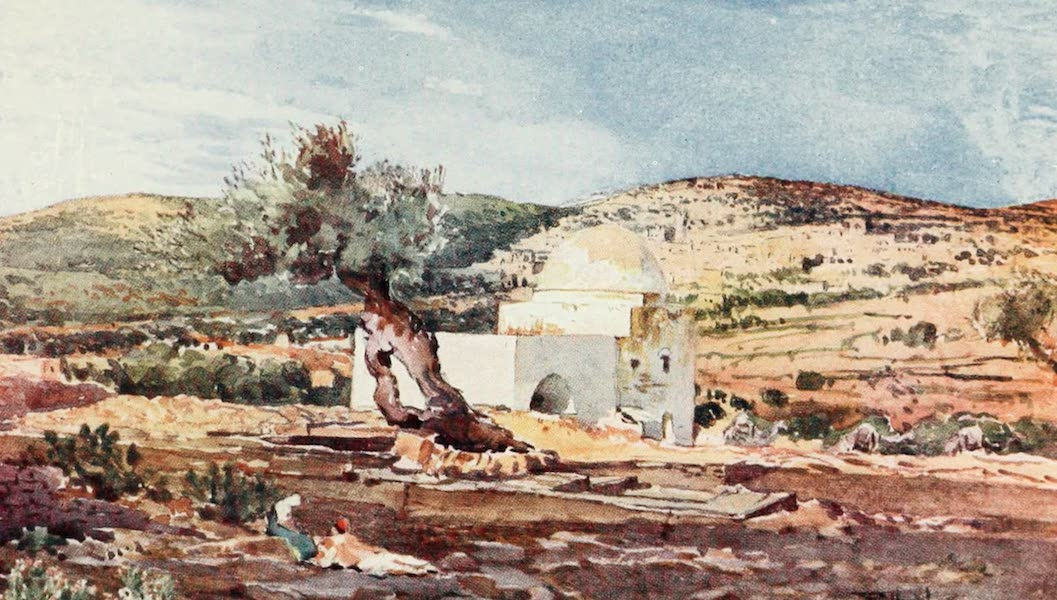 The Holy Land, Painted and Described - The Tomb of Rachel, on the Road from Jerusalem to Hebron (1902)