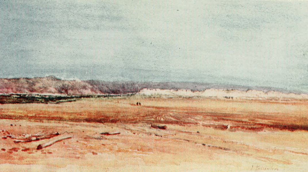The Holy Land, Painted and Described - The Western Shore of the Dead Sea (1902)