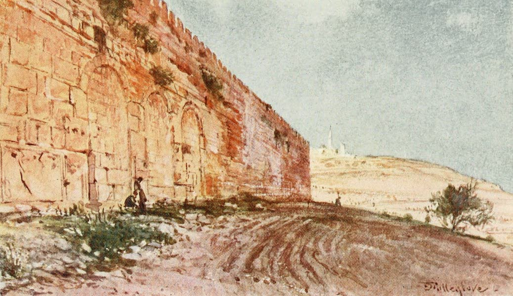 The Holy Land, Painted and Described - Jerusalem - The Triple Gate of the Temple Area (1902)