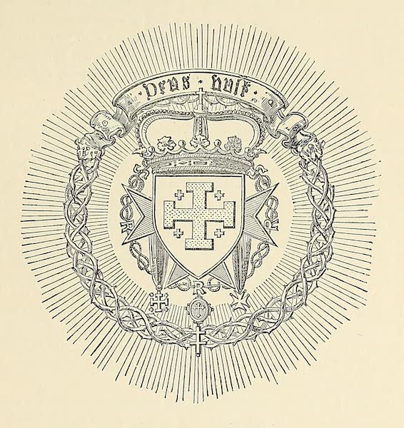The Holy Land : Syria, Idumea, Arabia, Egypt & Nubia Vols. 1 & 2 - The Armorial Engsigns of Jerusalem (1855)