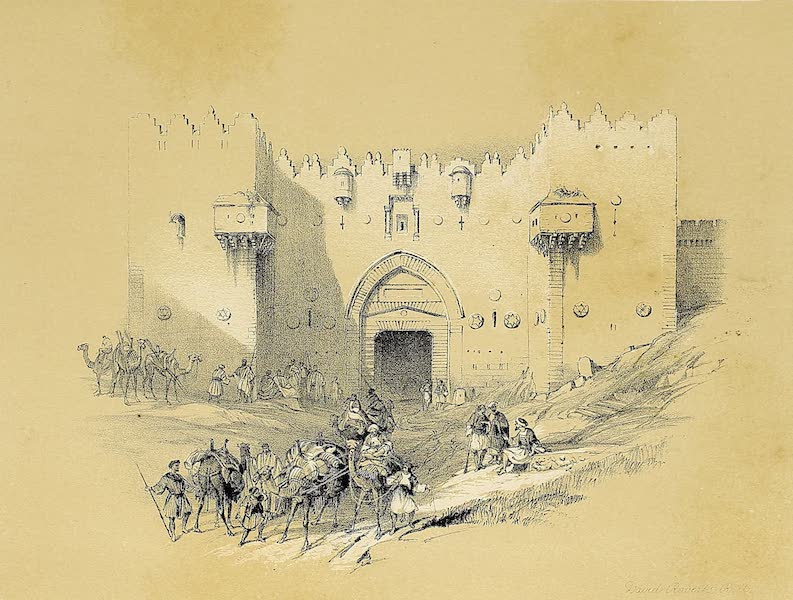 The Holy Land : Syria, Idumea, Arabia, Egypt & Nubia Vols. 1 & 2 - The Damascus Gate (1855)