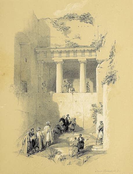 The Holy Land : Syria, Idumea, Arabia, Egypt & Nubia Vols. 1 & 2 - Tomb of St. James (1855)