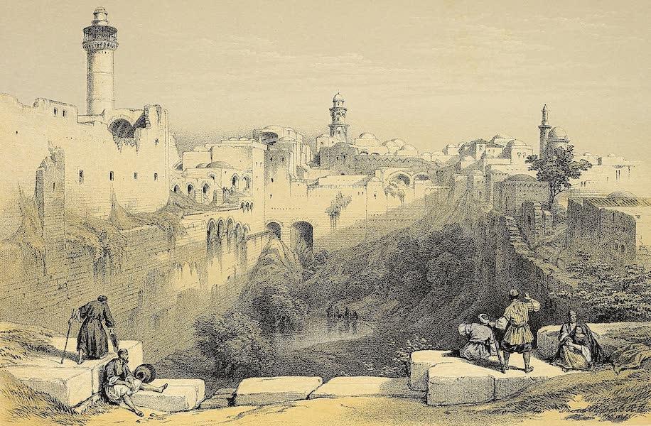 The Holy Land : Syria, Idumea, Arabia, Egypt & Nubia Vols. 1 & 2 - The Pool of Bethesda (1855)