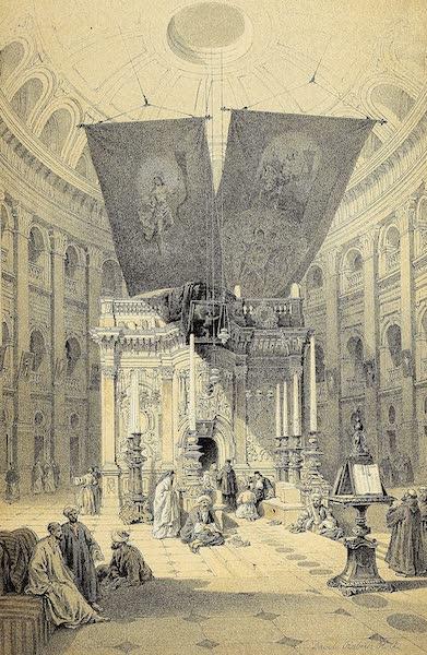 The Holy Land : Syria, Idumea, Arabia, Egypt & Nubia Vols. 1 & 2 - The Shrine of the Holy Sepulchre (1855)