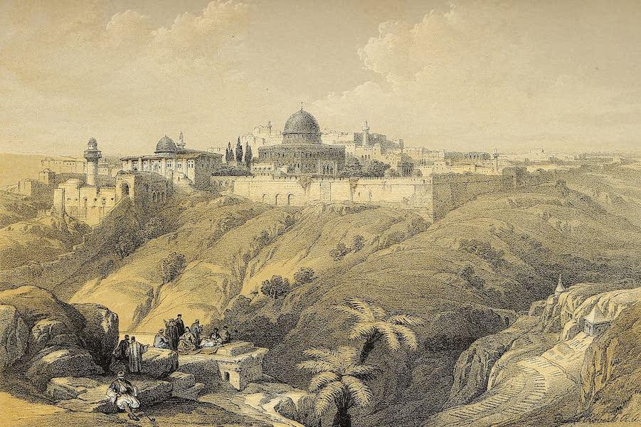 The Holy Land : Syria, Idumea, Arabia, Egypt & Nubia Vols. 1 & 2 - Jerusalem - The Church of the Purification (1855)