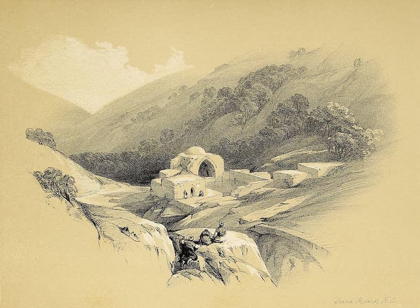 The Holy Land : Syria, Idumea, Arabia, Egypt & Nubia Vols. 1 & 2 - Fountain of Job - Valley of Hinnom (1855)