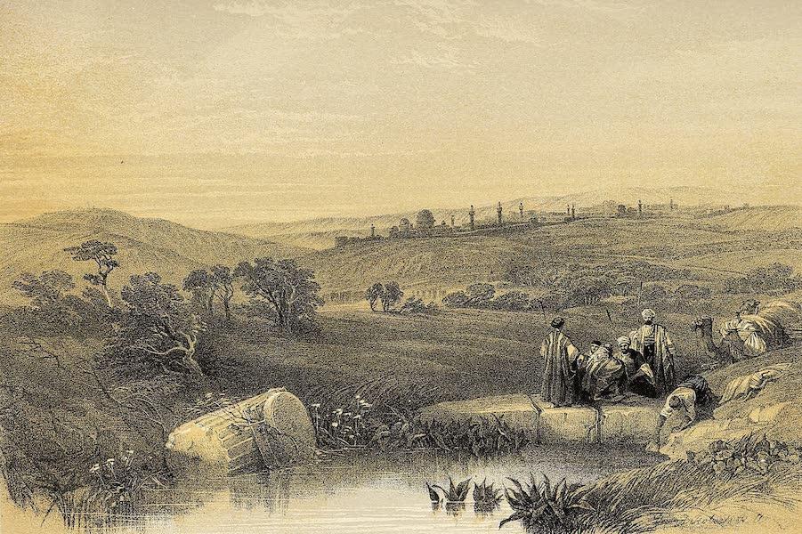 The Holy Land : Syria, Idumea, Arabia, Egypt & Nubia Vols. 1 & 2 - Jerusalem from the North (1855)