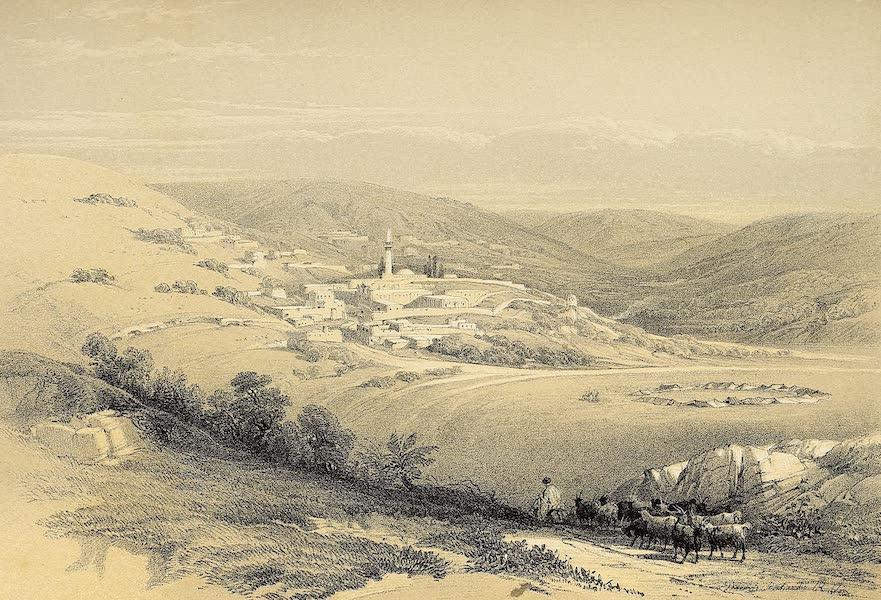 The Holy Land : Syria, Idumea, Arabia, Egypt & Nubia Vols. 1 & 2 - Nazareth, General View  (1855)