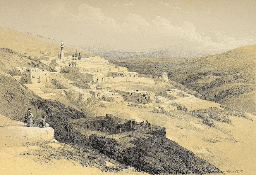 The Holy Land : Syria, Idumea, Arabia, Egypt & Nubia Vols. 1 & 2 - Convent of the Terra Santa, Nazareth (1855)