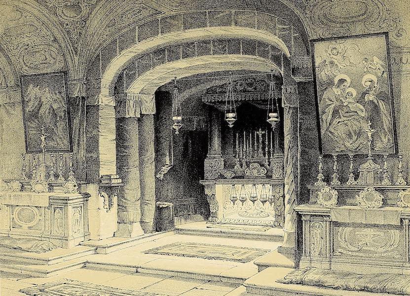 The Holy Land : Syria, Idumea, Arabia, Egypt & Nubia Vols. 1 & 2 - Church of the Annunciation, Nazareth [I] (1855)