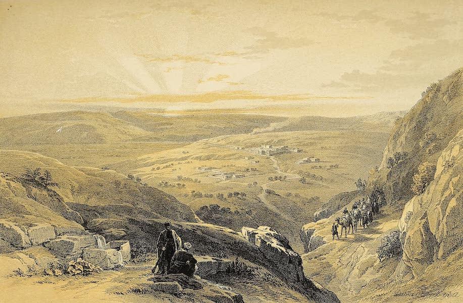 The Holy Land : Syria, Idumea, Arabia, Egypt & Nubia Vols. 1 & 2 - Cana, General View (1855)
