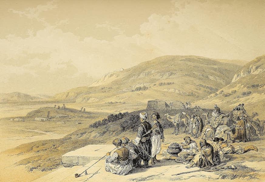 The Holy Land : Syria, Idumea, Arabia, Egypt & Nubia Vols. 1 & 2 - Jacob's Well at Shechem (1855)