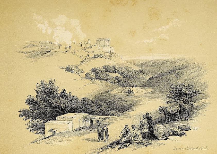 The Holy Land : Syria, Idumea, Arabia, Egypt & Nubia Vols. 1 & 2 - Ruins of the Church of St. John, Sebaste (1855)