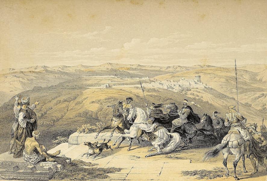 The Holy Land : Syria, Idumea, Arabia, Egypt & Nubia Vols. 1 & 2 - Sebaste, Ancient Samaria (1855)