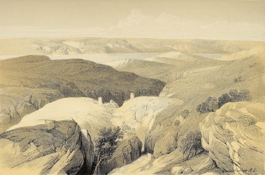 The Holy Land : Syria, Idumea, Arabia, Egypt & Nubia Vols. 1 & 2 - Wilderness of Engedi, near the Convent of St. Saba (1855)