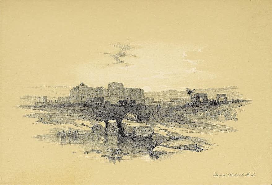 The Holy Land : Syria, Idumea, Arabia, Egypt & Nubia Vols. 1 & 2 - Beil Jebrin, or Eleutheropolis (1855)