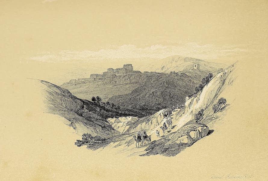 The Holy Land : Syria, Idumea, Arabia, Egypt & Nubia Vols. 1 & 2 - Ruins of Semua (1855)