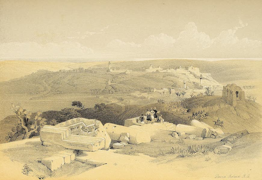 The Holy Land : Syria, Idumea, Arabia, Egypt & Nubia Vols. 1 & 2 - Gaza (1855)