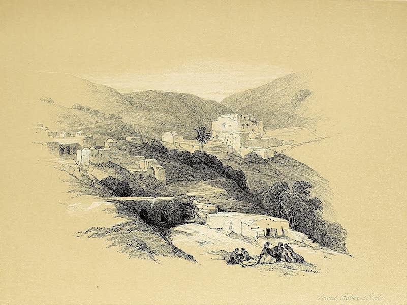 The Holy Land : Syria, Idumea, Arabia, Egypt & Nubia Vols. 1 & 2 - Christian Church of St. George at Lud, Ancient Lydda (1855)