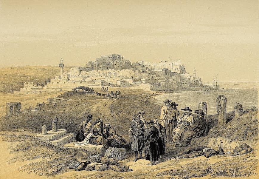 The Holy Land : Syria, Idumea, Arabia, Egypt & Nubia Vols. 1 & 2 - Jaffa, Looking South (1855)