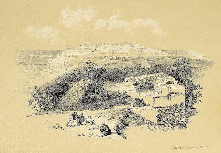The Holy Land : Syria, Idumea, Arabia, Egypt & Nubia Vols. 1 & 2 - Jaffa, Looking North (1855)