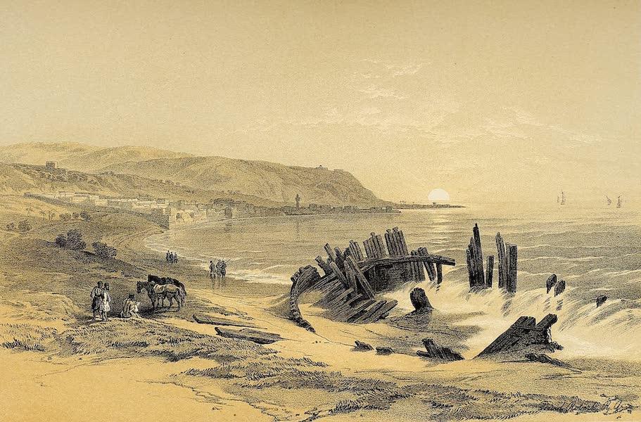 The Holy Land : Syria, Idumea, Arabia, Egypt & Nubia Vols. 1 & 2 - Caiphas, looking towards Mount Carmel (1855)