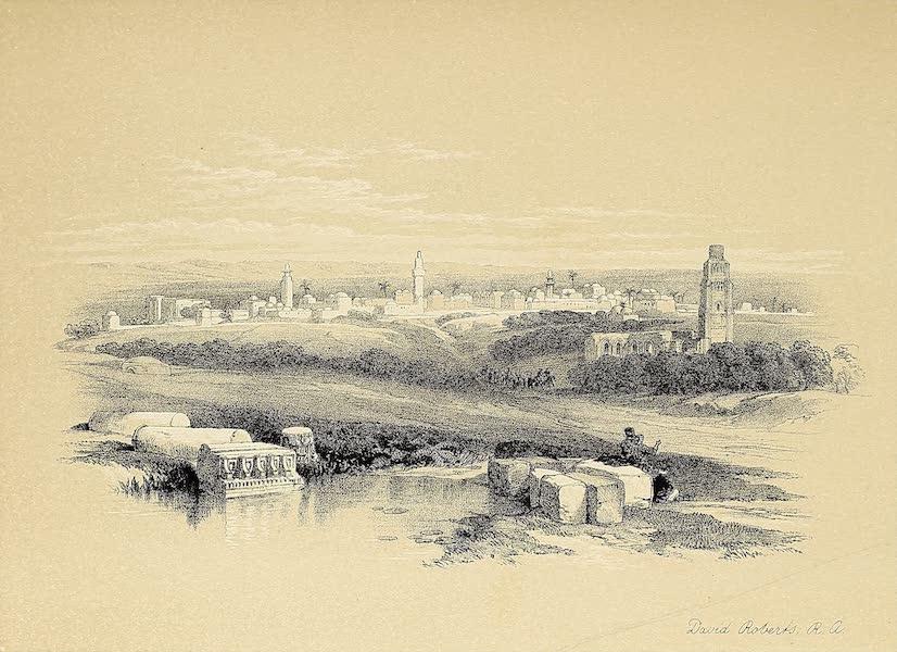 The Holy Land : Syria, Idumea, Arabia, Egypt & Nubia Vols. 1 & 2 - Ramla, Ancient Arimathea (1855)