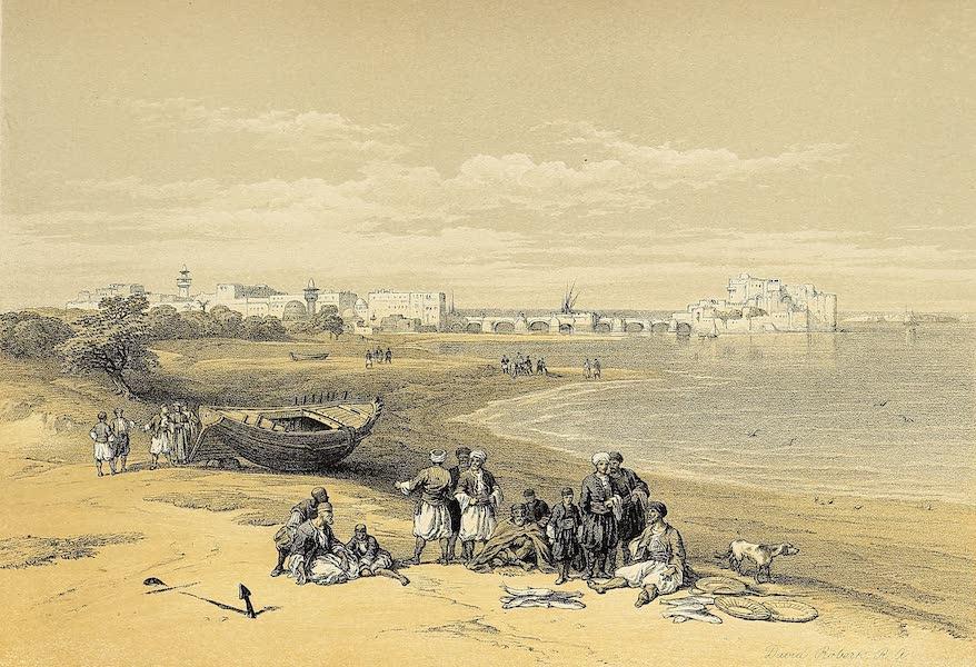 The Holy Land : Syria, Idumea, Arabia, Egypt & Nubia Vols. 1 & 2 - Sidon, General View (1855)