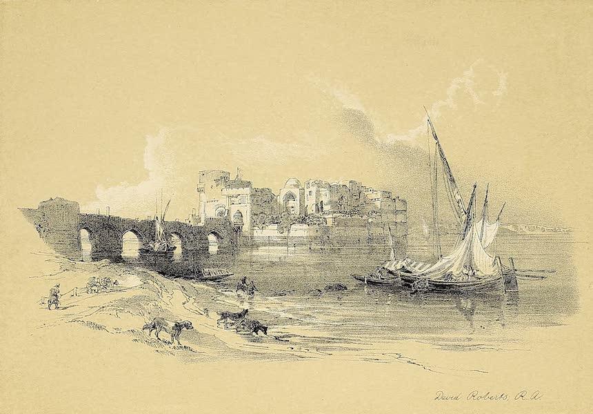 The Holy Land : Syria, Idumea, Arabia, Egypt & Nubia Vols. 1 & 2 - Citadel of Sidon (1855)