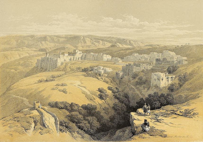 The Holy Land : Syria, Idumea, Arabia, Egypt & Nubia Vols. 1 & 2 - Bethlehem (1855)