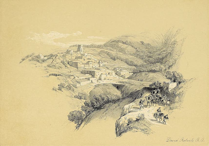 The Holy Land : Syria, Idumea, Arabia, Egypt & Nubia Vols. 1 & 2 - Bethany (1855)