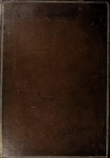 The Holy Land : Syria, Idumea, Arabia, Egypt & Nubia Vols. 1 & 2 - Back Cover (1855)
