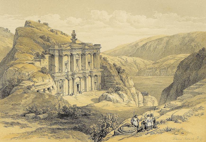 The Holy Land : Syria, Idumea, Arabia, Egypt & Nubia Vols. 3 & 4 - El Deir, Petra (1855)