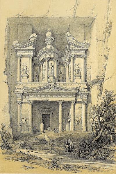 The Holy Land : Syria, Idumea, Arabia, Egypt & Nubia Vols. 3 & 4 - El Khasne (1855)