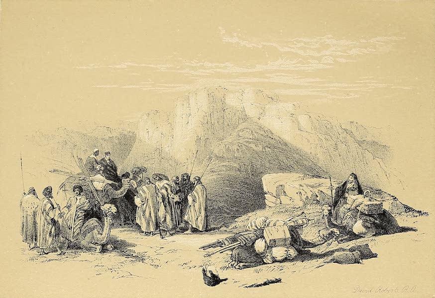 The Holy Land : Syria, Idumea, Arabia, Egypt & Nubia Vols. 3 & 4 - Tomb of Aarob, Summit of Mount Hor (1855)