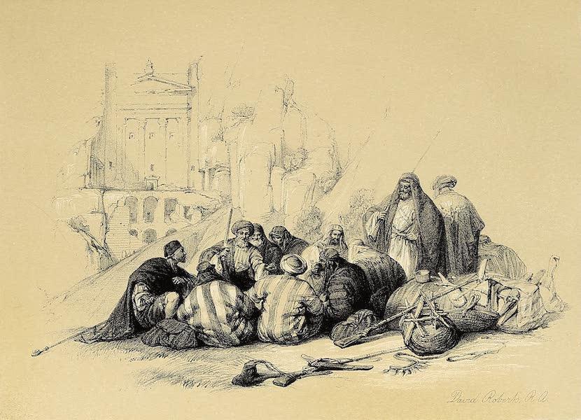 The Holy Land : Syria, Idumea, Arabia, Egypt & Nubia Vols. 3 & 4 - Conference of Arabs (1855)